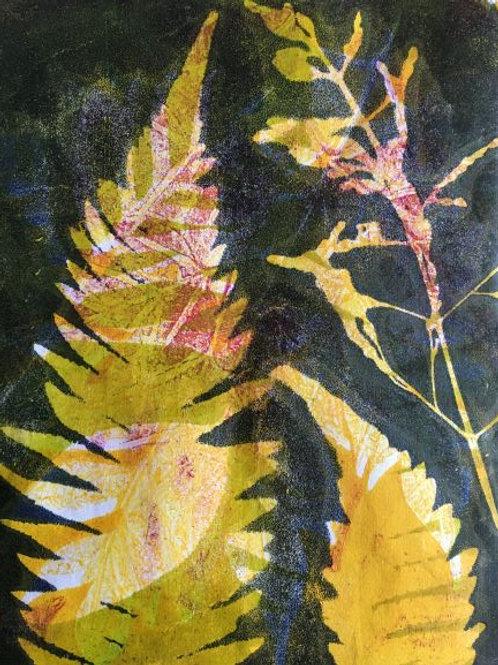 'Abstracting the Bush #4'' by Joan Mullarvey