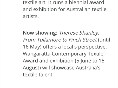 RACV mentions Art Gallery on Ovens