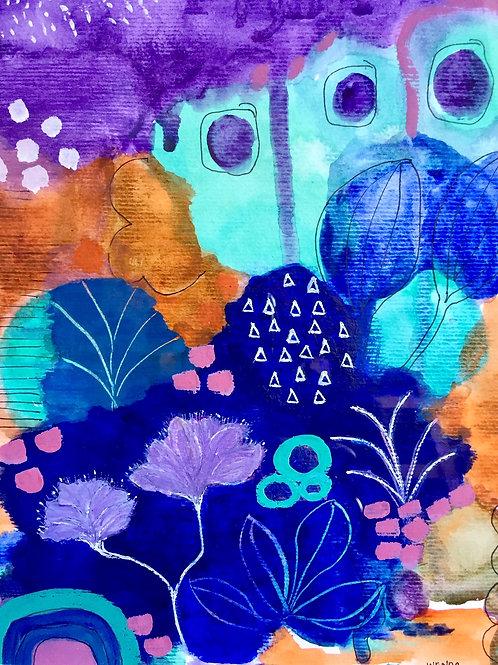 'Paradise Pools' by Wenda Grant