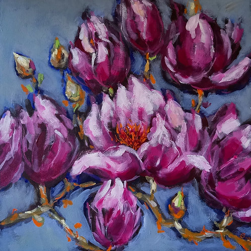 'Spring Blossoms II' by Sian Lim