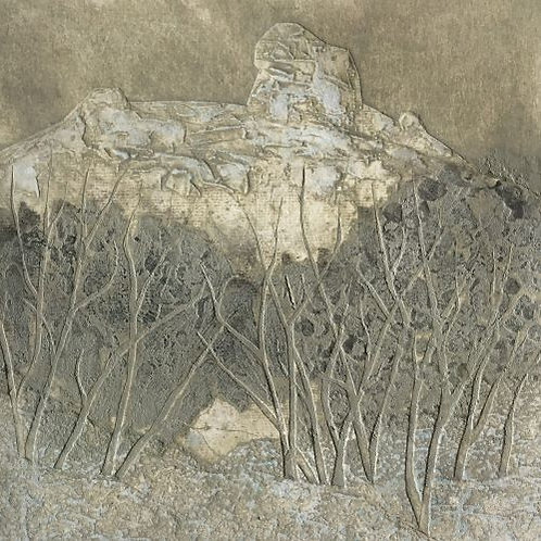 'The Cathedral Mt Buffalo' VE 1/8 by Joan Mullarvey