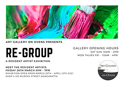 Art gallery on Ovens presents option 2.p