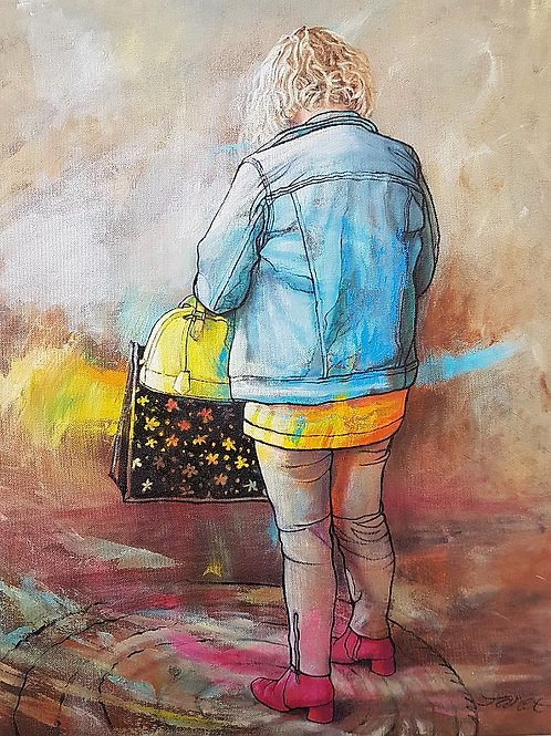 'Out Shopping' by Janet Leith