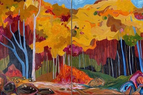 'Autumn Colours -Beechworth' by Kay Hampton