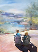 JanetLeith-Enjoyingtheview-oiloncanvas.j