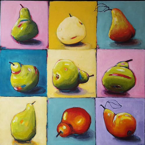 '9 Pears 1' by Sian Lim
