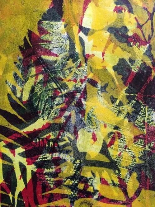 'Abstracting the Bush #1' by Joan Mullarvey