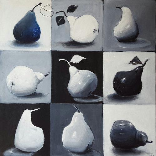 '9 Pears II' by Sian Lim