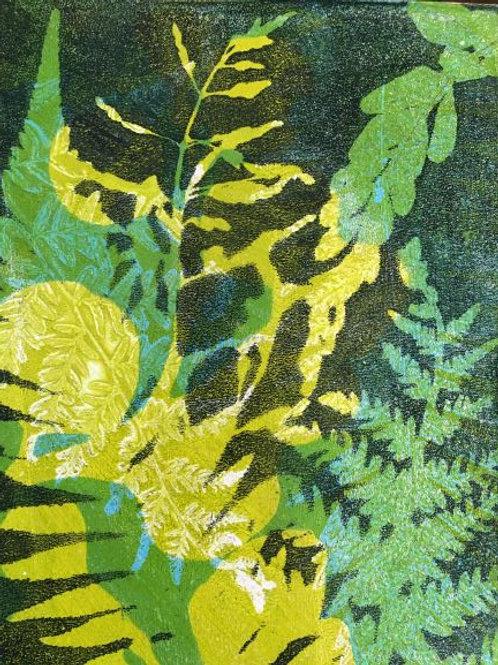 'Abstracting the Bush #2' by Joan Mullarvey