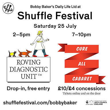 Shuffle Festival: join us for Roving and Cabaret