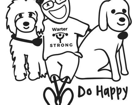 Happy is a verb.  Do Happy.