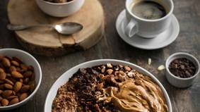 Porridge au dalgona coffee