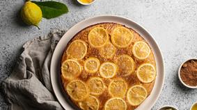 Le gâteau au citron renversé
