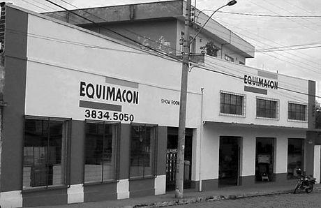 foto antiga fachada EQUIMACON Caminho Novo