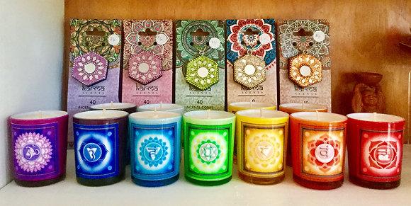 Chakra Candles & Incense