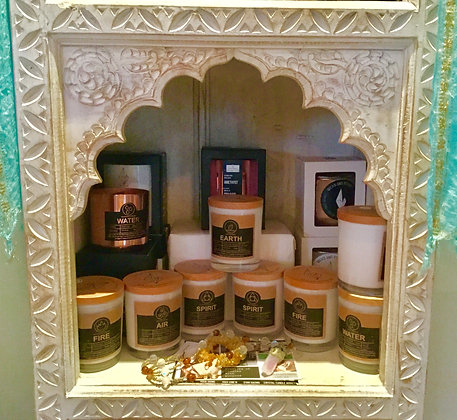 Elemental Candles from Wicks & Stones