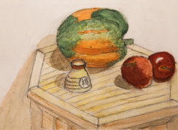 Li bros art studio_student watercolor_still life3