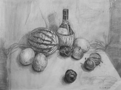 Li bros art studio_student sketch_still life7
