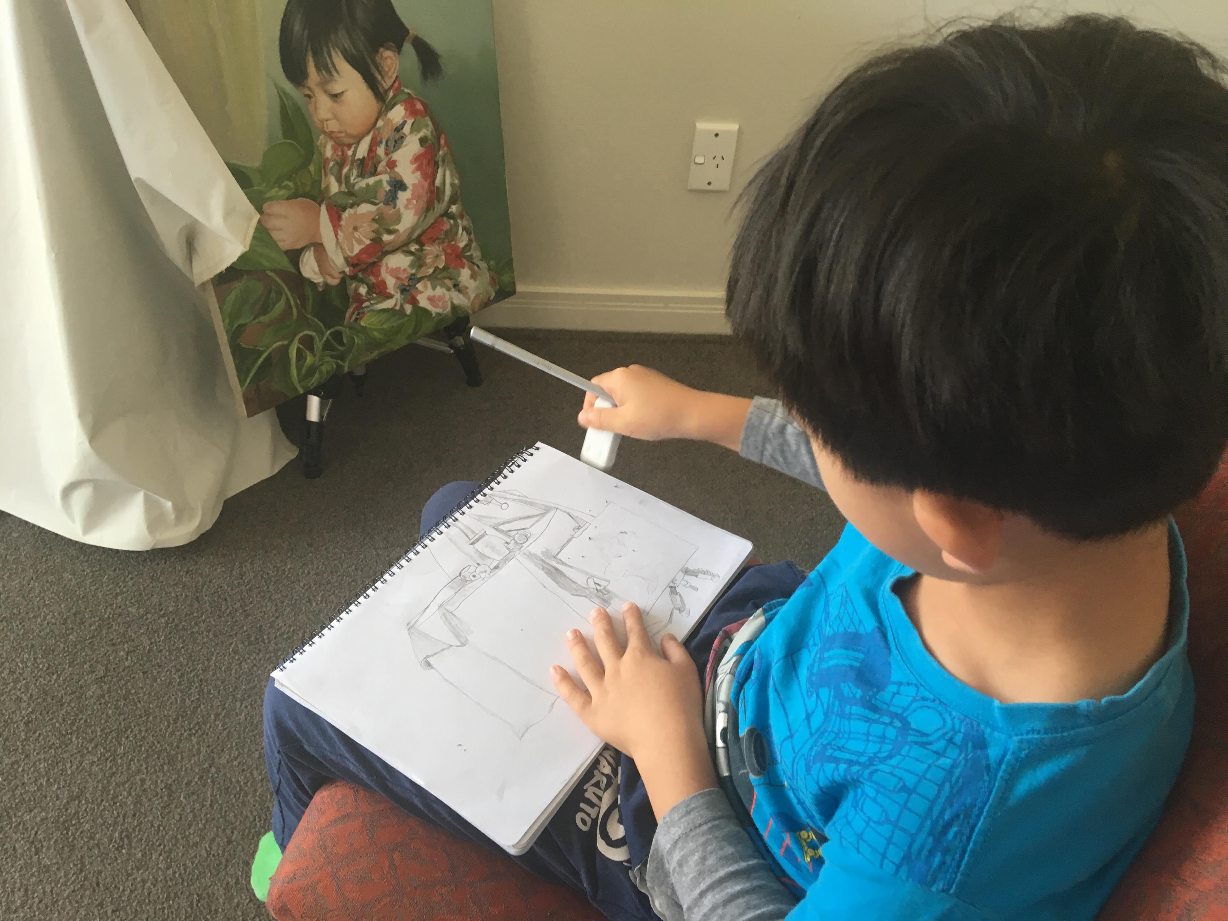 Li Bros Art Studio _Kids art class