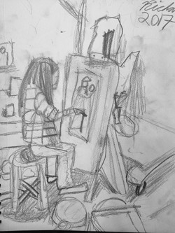 Ben Li Art Studio_Sketch 4