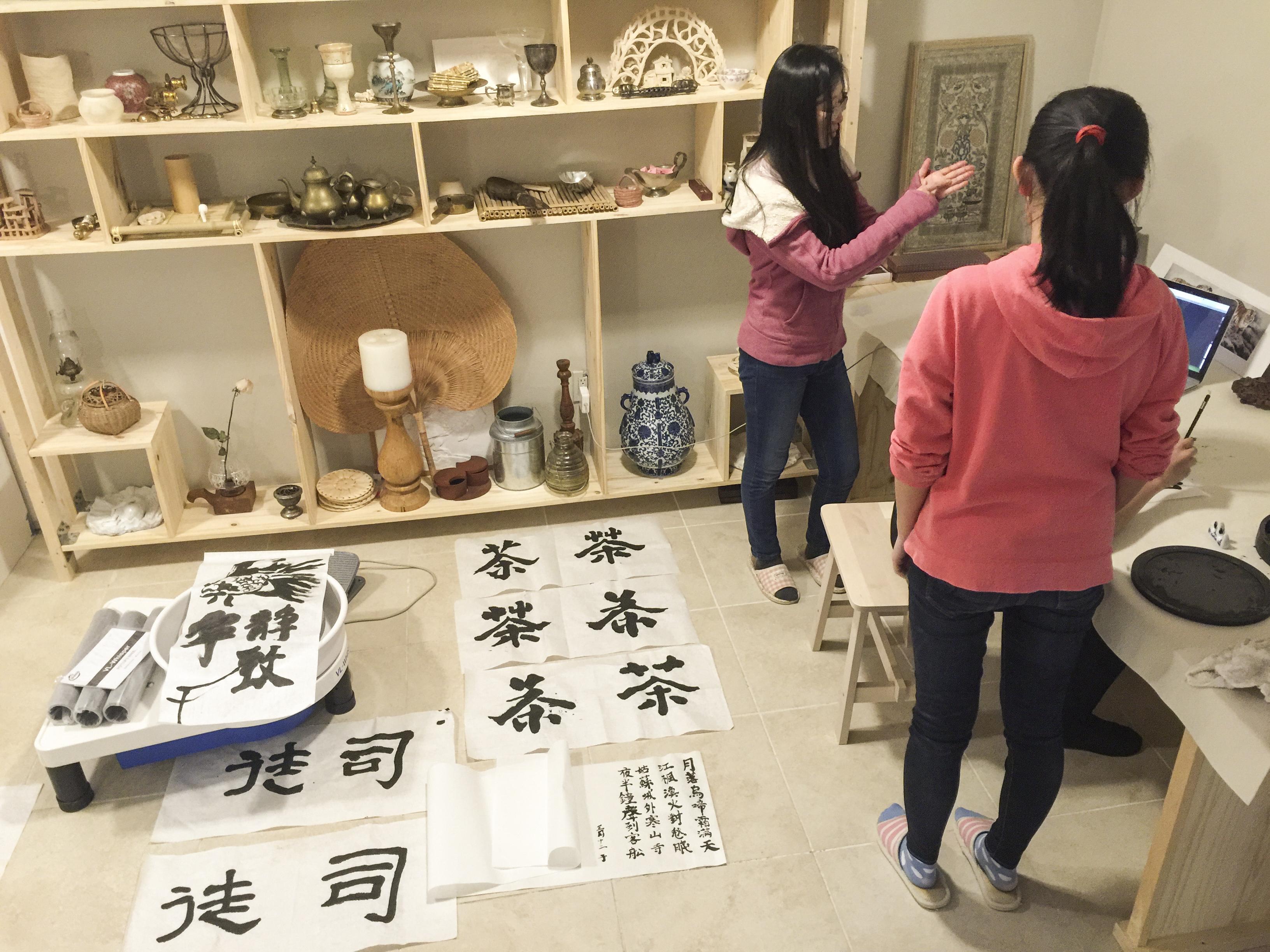 Ben Li Art Studio classroom 4