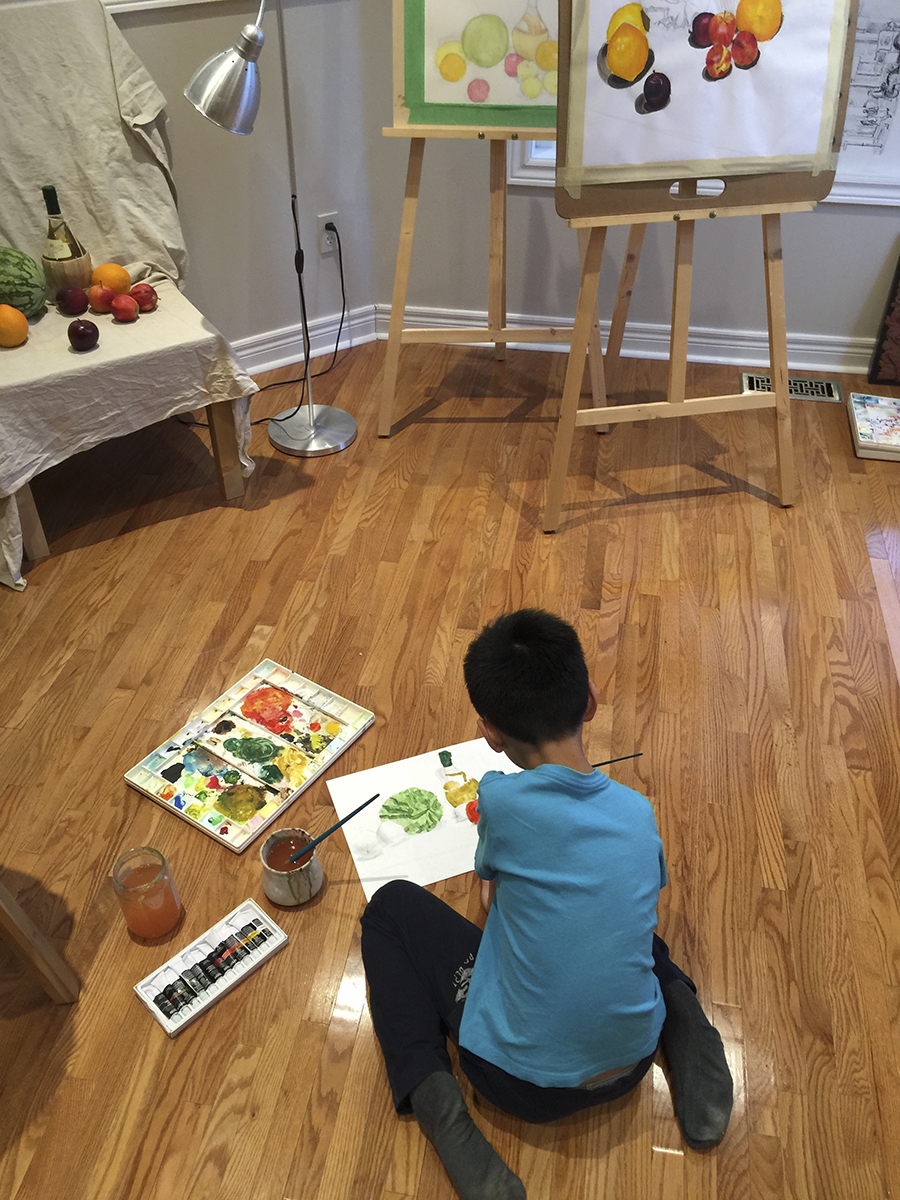 Ben Li Art Studio1