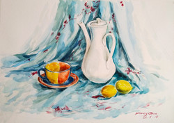 Li Bros Art Studio_Still life_watercolor_Student work
