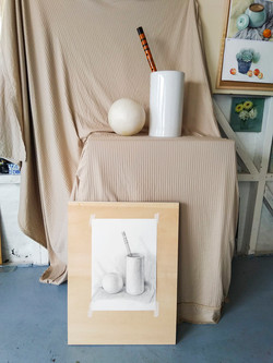 Li Bros Art Studio_Still life_sketch_Student work