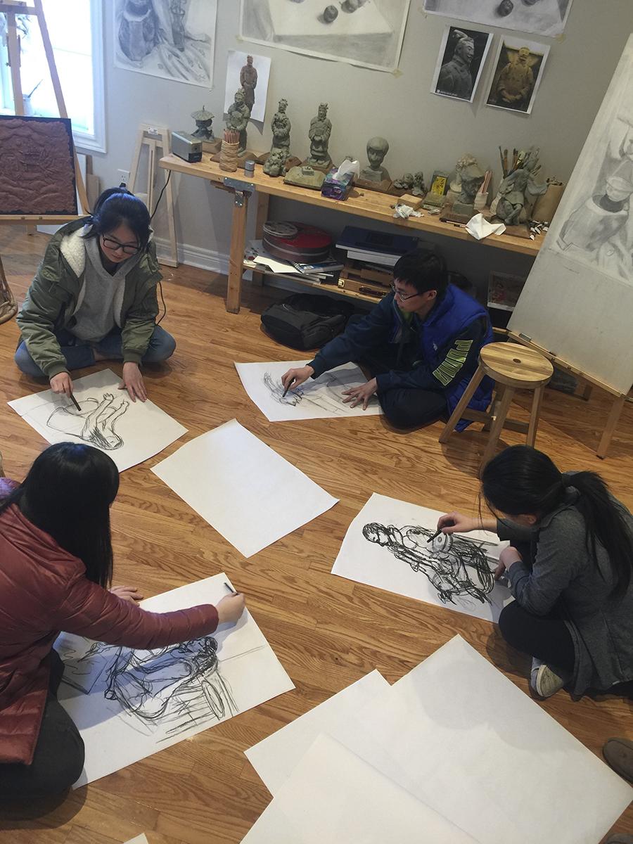 Ben Li Art Studio2