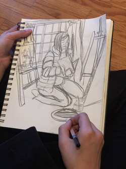 Ben Li Art Studio_Sketch 5
