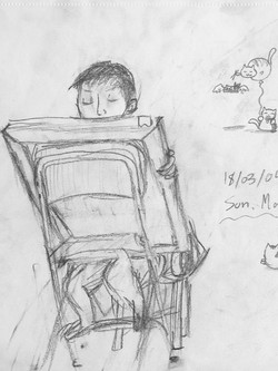 Ben Li Art Studio_Sketch 3