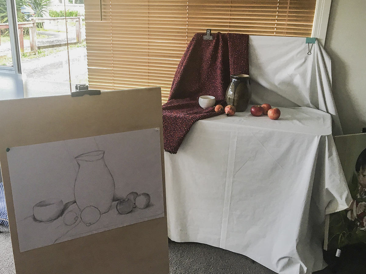 Li Bros Art Studio _Still Life Sketch