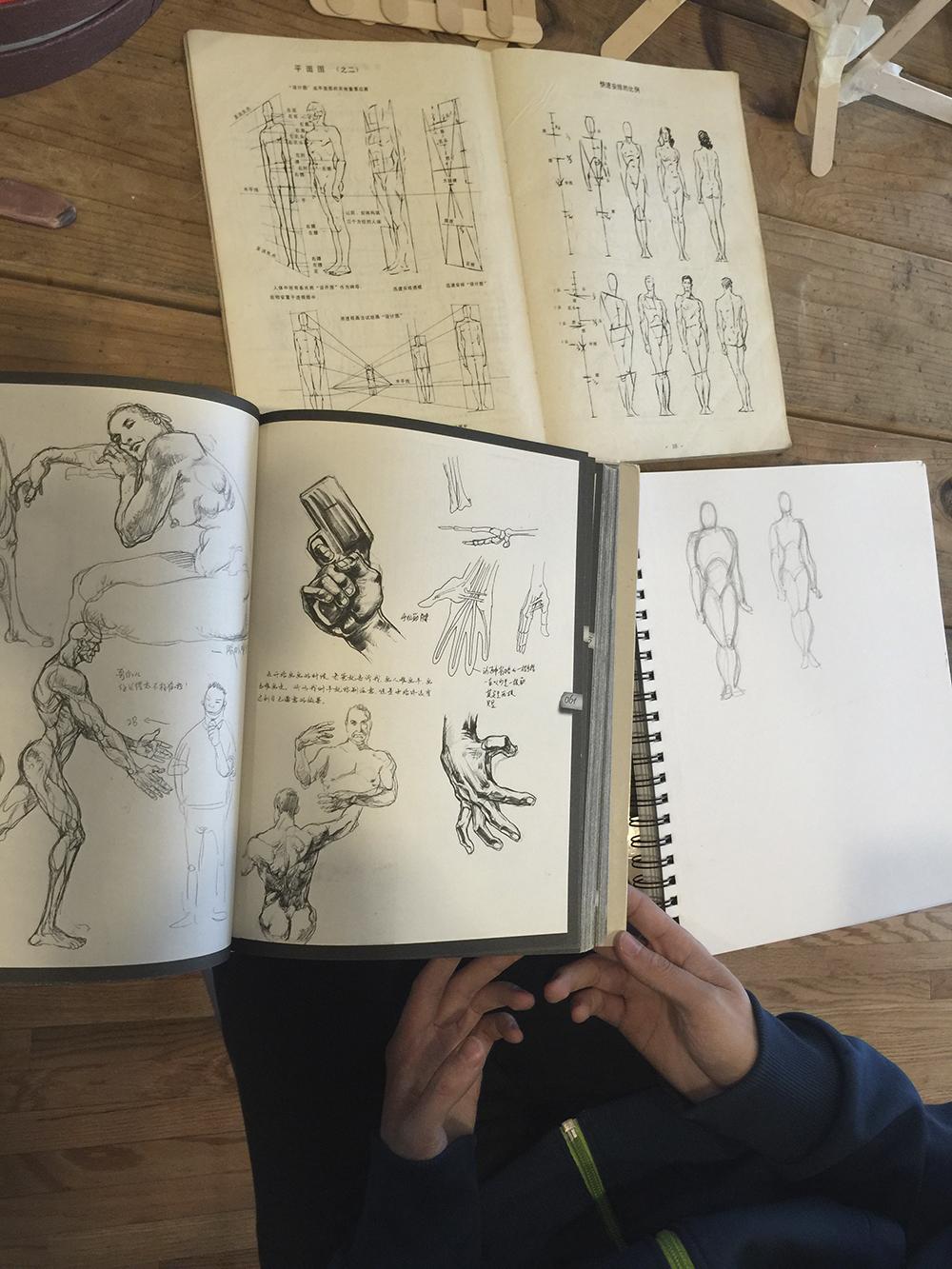 Ben Li Art Studio6