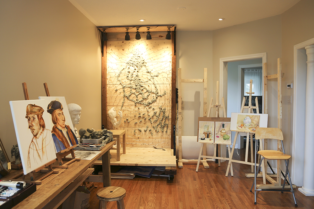 Ben Li Art Studio  classroom 2