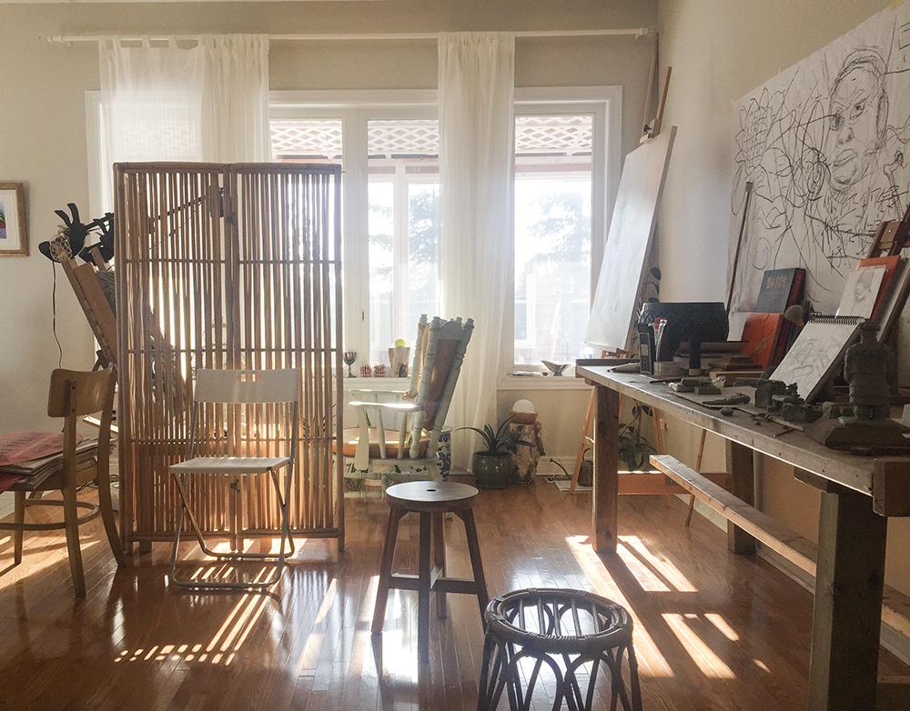 Ben Li Art Studio4