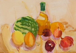 Li bros art studio_student watercolor_still life2