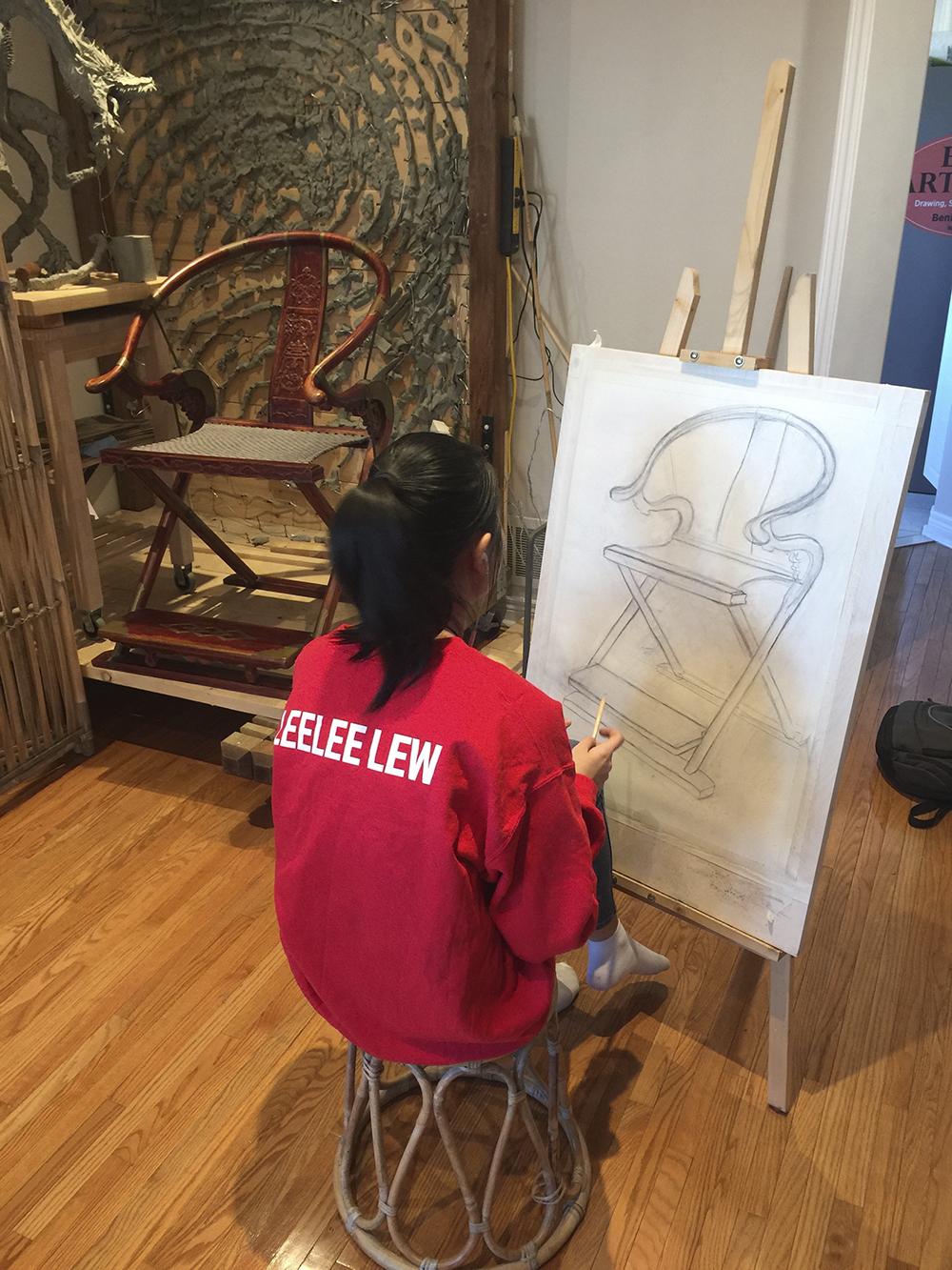 Ben Li Art Studio9