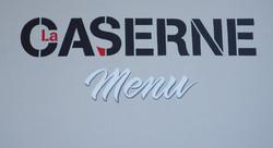 Caserne menu