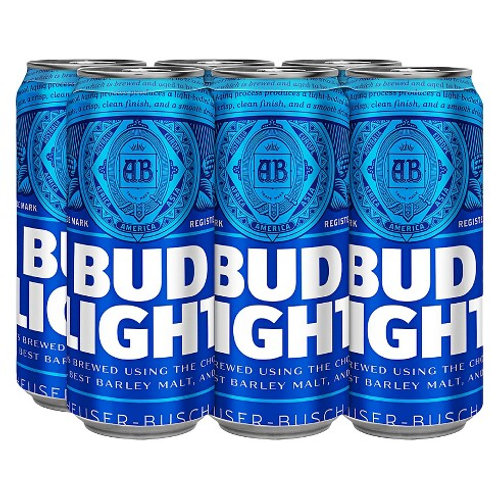 Bud Light 6pk can