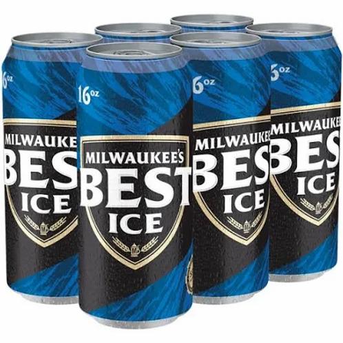 Milwaukees Best Ice 6pk 16oz