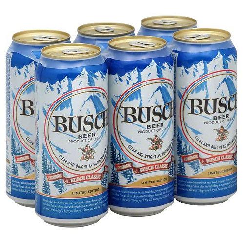 Busch 6pk 16oz Cans