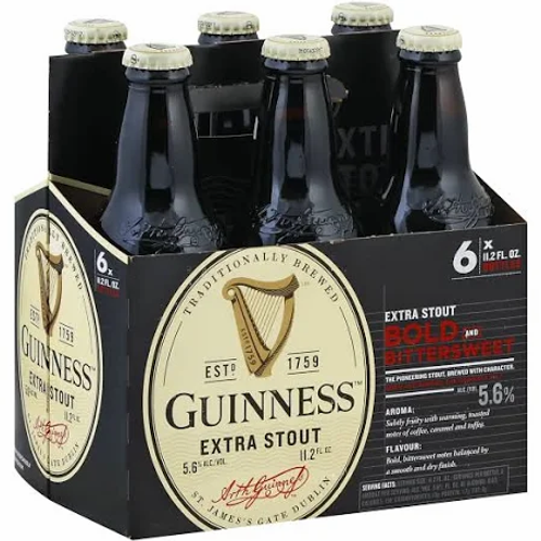 Guiness 6pk Bottle