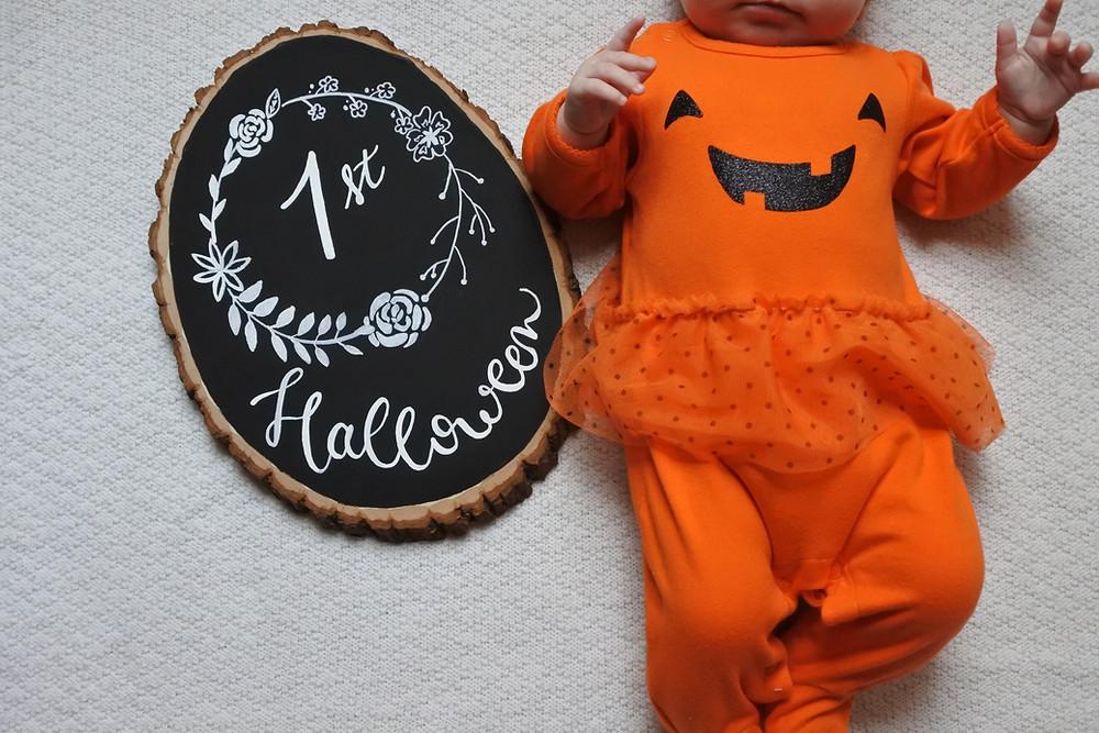 baby milestone sign