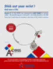 AED Fund Bracelet Flyer Updated 11_26_19