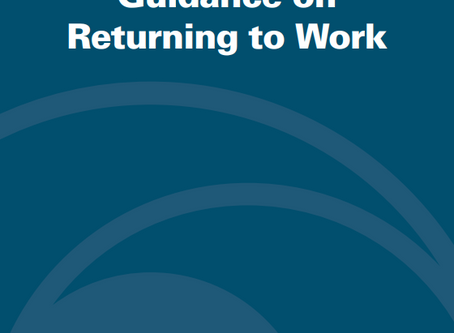 OSHA's Guidance on Returning to Work