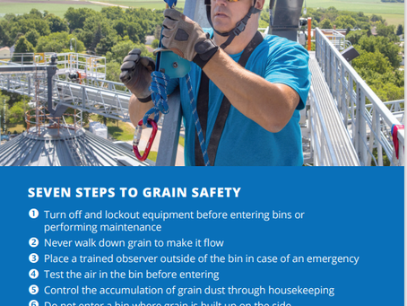 It's Stand Up for Grain Safety Week!