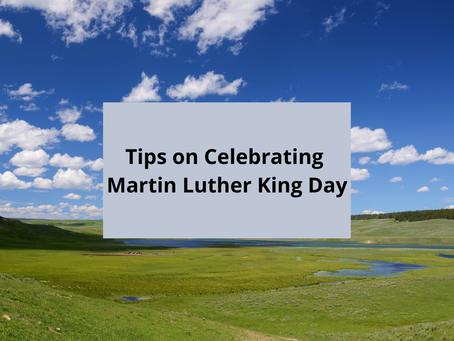 Tips on Celebrating Martin Luther King Day shared from the CDC!