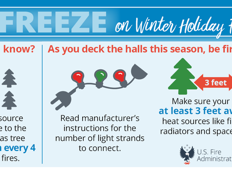 Check out these Winter Holiday Fire Safety resources!