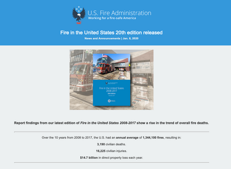 Fire in the United States Report