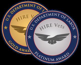 2020 HIRE Vets Medallion Award - Congratulations to Nucor Steel Auburn!